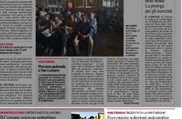 """La Nazione.it – Pontedera: """"Presentata la nuova partnership: Ecco nuove soluzioni assicurative – Crv si allea con il Gruppo Helvetia"""""""