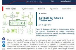 """Bancaforte (ABI): """"La filiale del futuro è 'Sottocasa'"""""""