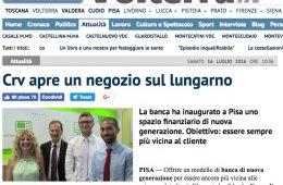 """QuiNews Volterra:  """"Crv apre un negozio sul lungarno"""""""