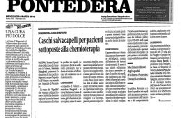 """QN La Nazione – Pontedera: """"Una cura più dolce"""""""