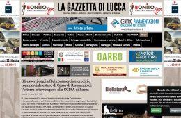 """La Gazzetta di Lucca: """"Gli esperti degli uffici commerciale crediti e commerciale estero di Cassa di Risparmio di Volterra intervengono alla CCIAA di Lucca"""""""