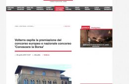 """GoNews.it: """"Volterra ospita la premiazione del concorso europeo e nazionale concorso 'Conoscere la Borsa'"""""""