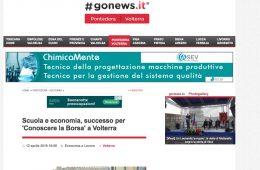 """GoNews.it: """"Scuola e economia, successo per 'Conoscere la Borsa' a Volterra"""""""