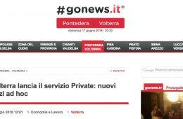"""GoNews: """"CrVolterra lancia il servizio Private: nuovi servizi ad hoc"""""""