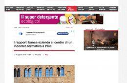 """GoNews.it: """"I rapporti banca-azienda al centro di un incontro formativo a Pisa"""""""