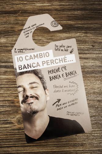 CAMPAGNA -IO CAMBIO BANCA PERCHÈ…