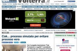 """QuiNews Volterra.it: """"Ciak… processo simulato per evitare processo vero"""""""
