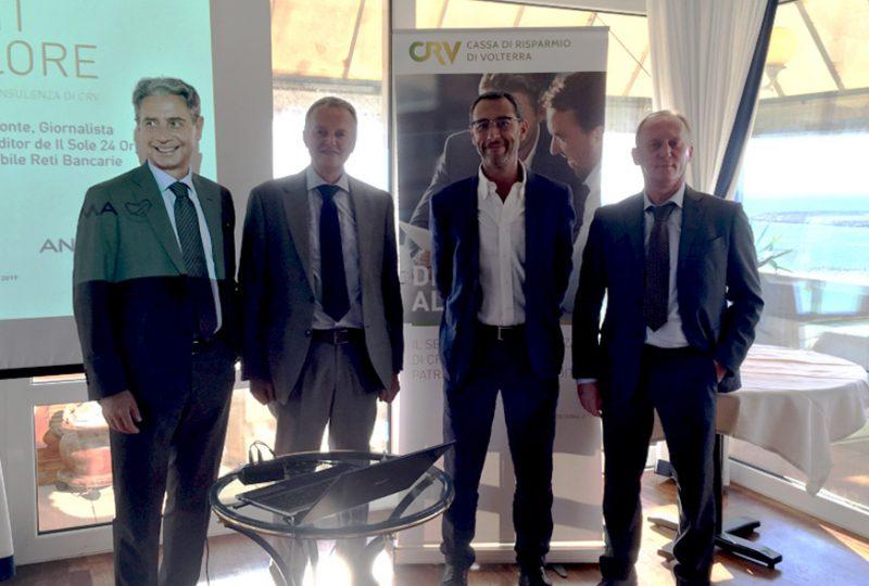 Private banking: all'Hotel Tornese l'evento esclusivo organizzato da Cassa di Risparmio di Volterra, in collaborazione con ANIMA Sgr