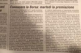 """La Spalletta: """"Conoscere la Borsa: martedì la premiazione"""""""